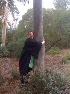Well done my tree-hugging-lumberjack :):)
